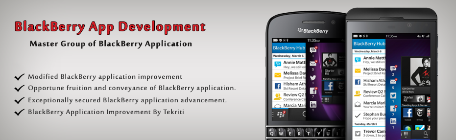 Blackberry App development