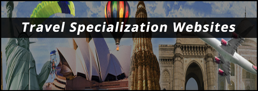 Travel Specialization Website